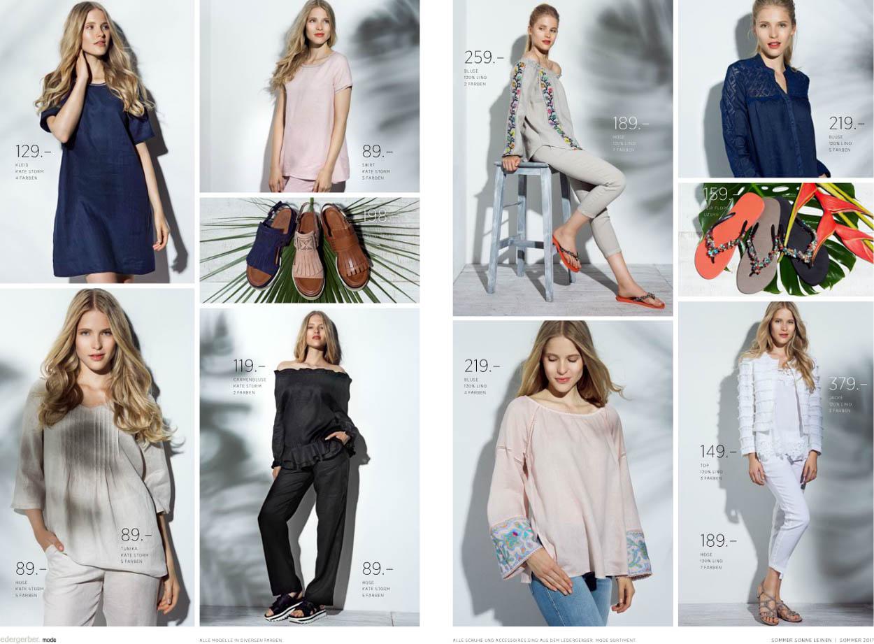 Melanie's Arbeit für Ledergerber & Mode Weber