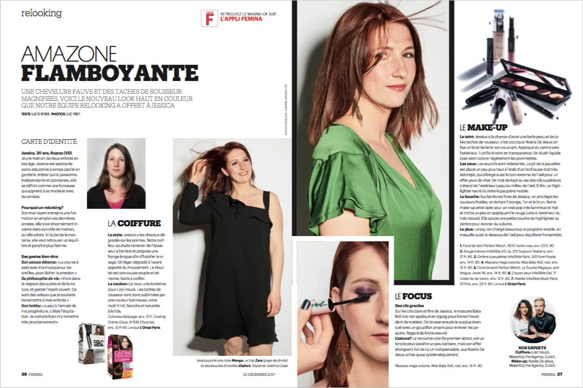Femina Relooking from Noelia and Loïc