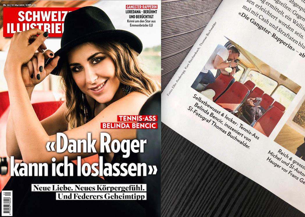 Neue Arbeit von Melanie & Mimmi für Schweizer Illustrierte
