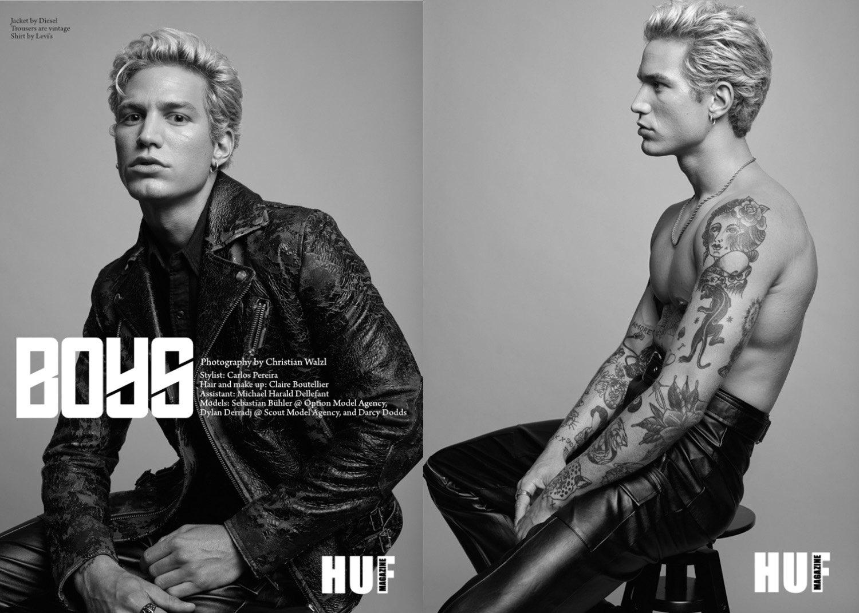 Neue Arbeit von Claire für das HUF Magazin