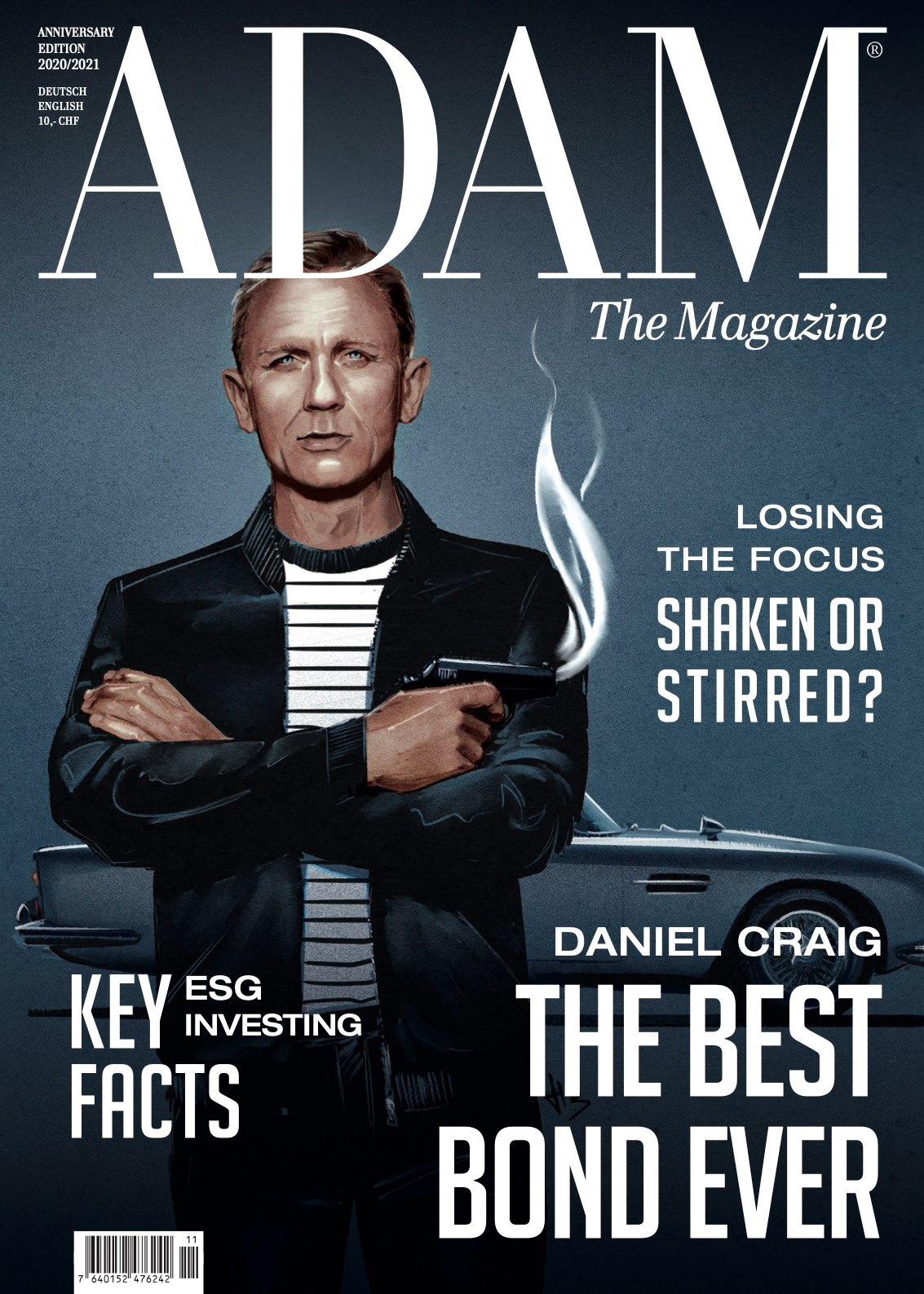 Neue Arbeit von Letizia & Laura für das Adam Magazin