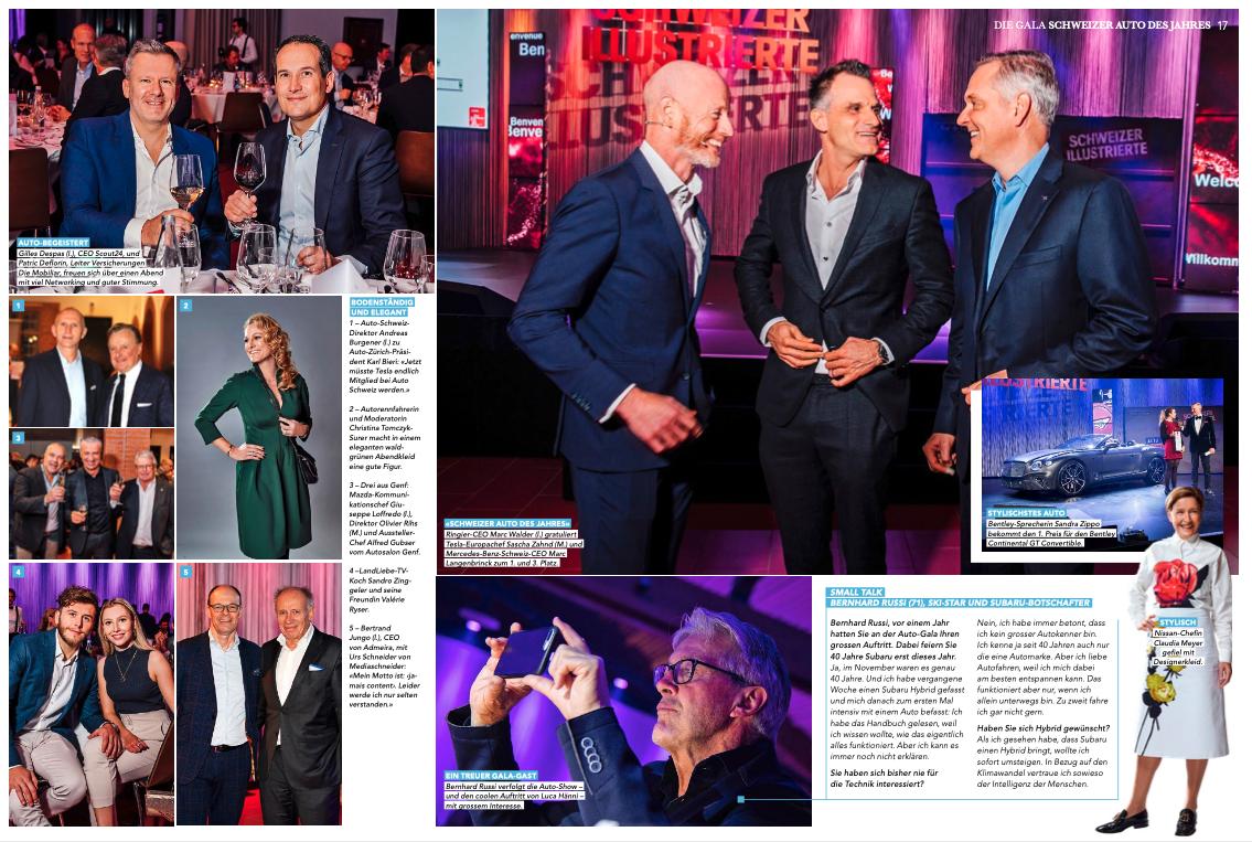 New work of Letizia for Schweizer Illustrierte