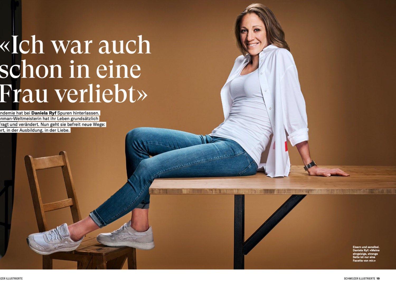 Neue Arbeit von Letizia für Schweizer Illustrierte