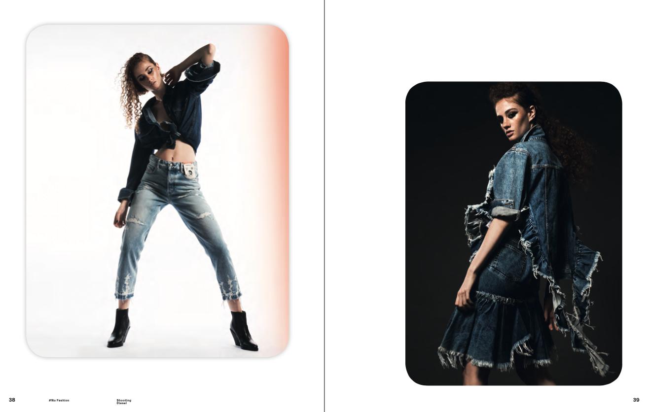 Neue Arbeit von Melanie für Nu Icons x Diesel