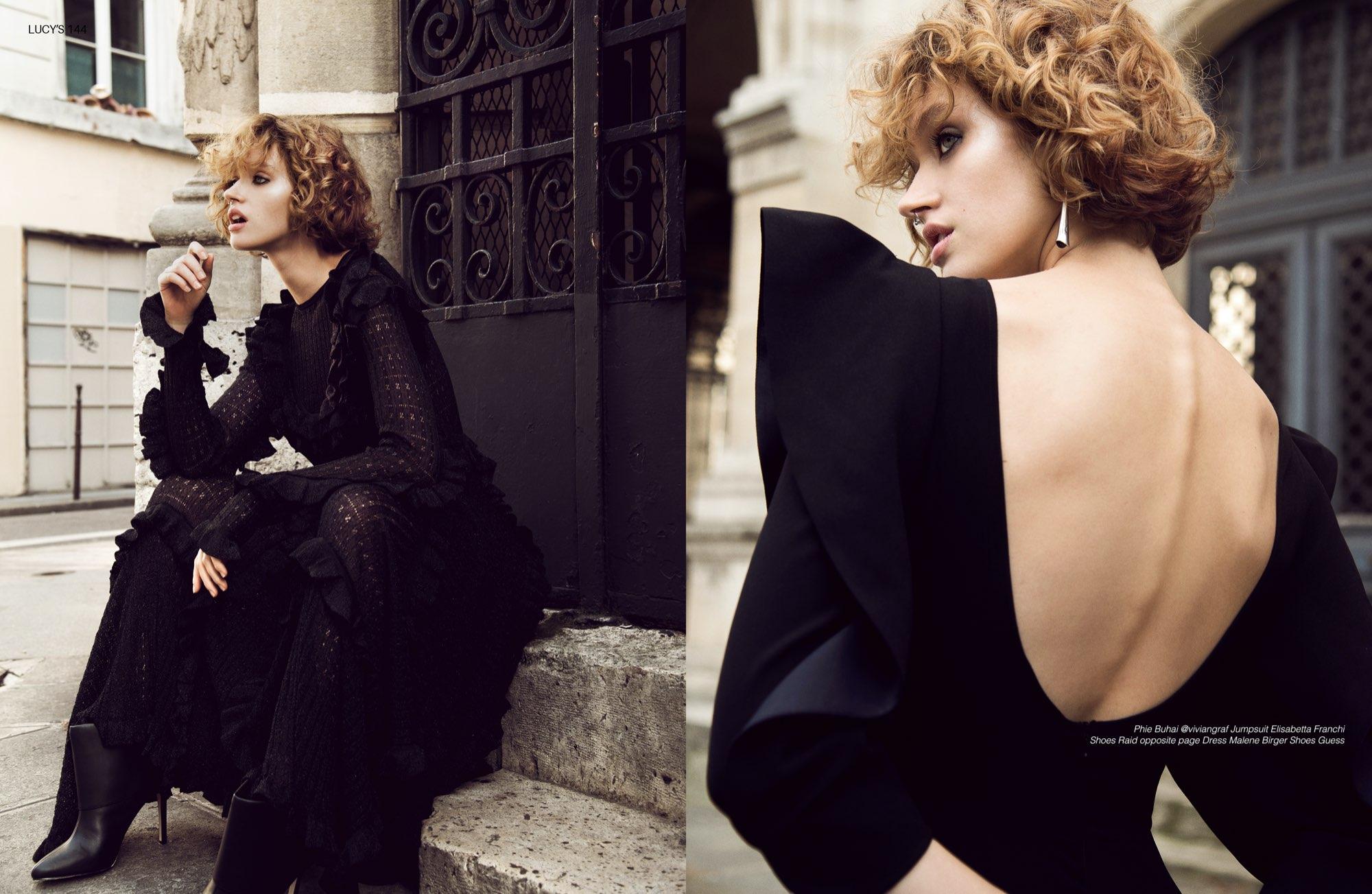 Neues Editorial in Paris von Fabienne & Julia für Lucy's Magazine