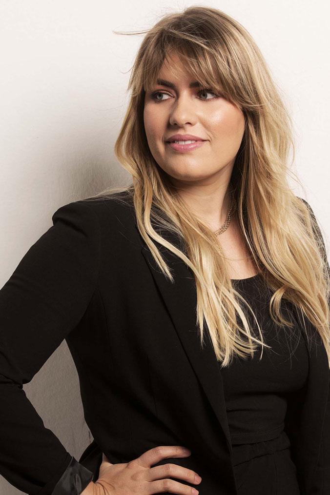 Portrait von Jelena Vögtli Zehntner