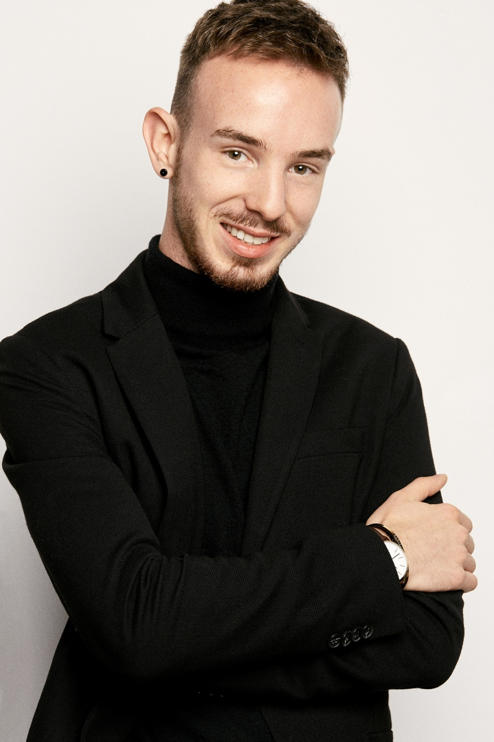 Portrait von Loïc Hauck