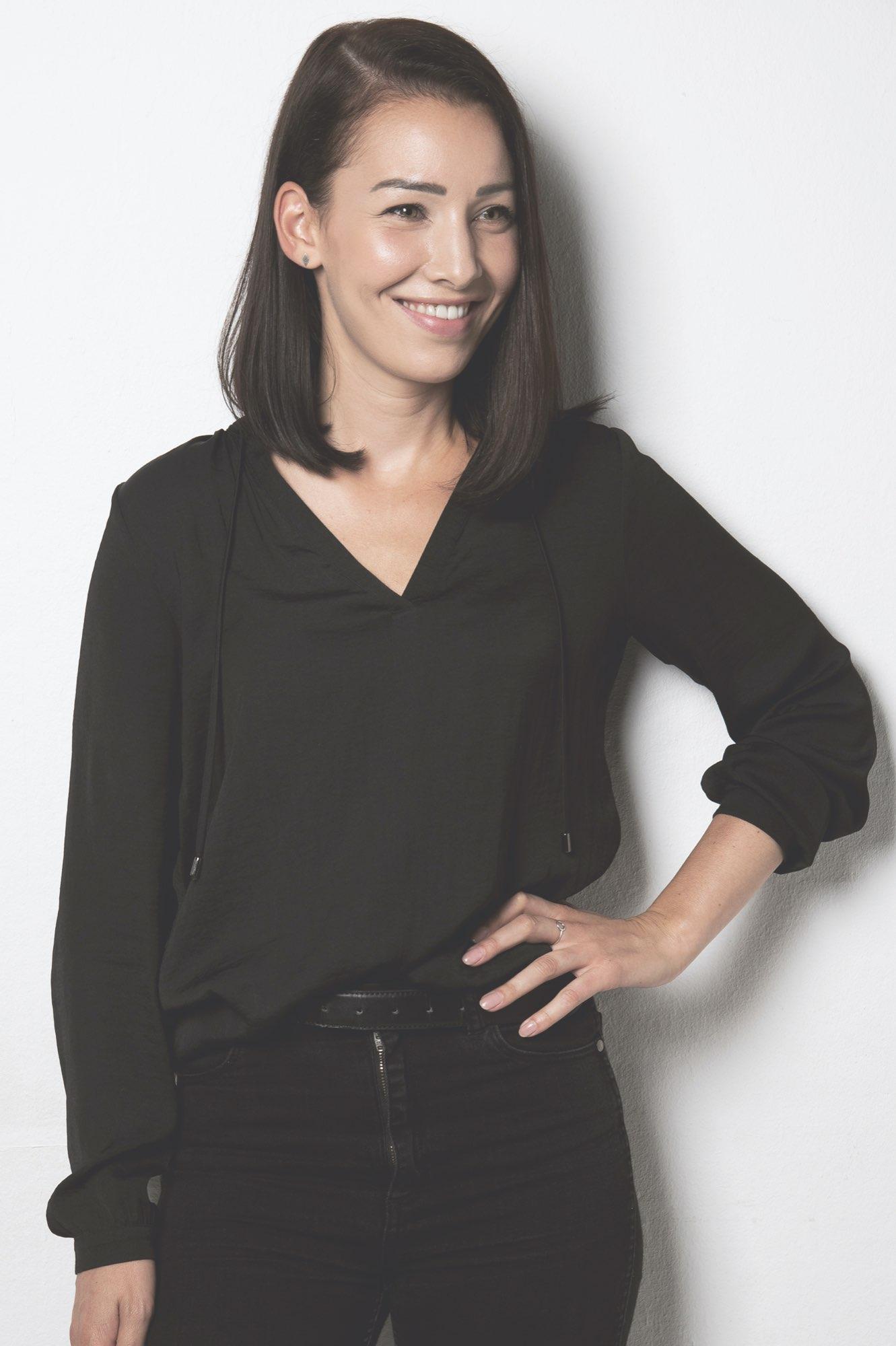 Portrait von Sarah Gmür